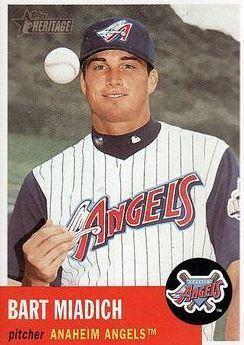Bart Miadich Bart Miadich Baseball Statistics 19982006