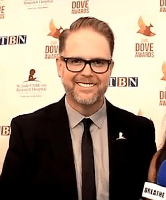Bart Millard Dove Awards 2014 CoHost Bart Millard of MercyMe Talks