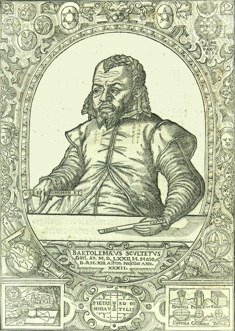 Bartholomäus Scultetus Bartholomus Scultetus in memoriam Grlitzer Sammlungen
