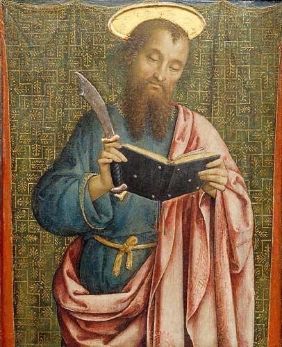 Bartholomew the Apostle a year of prayer 365 Rosaries August 24 Saint