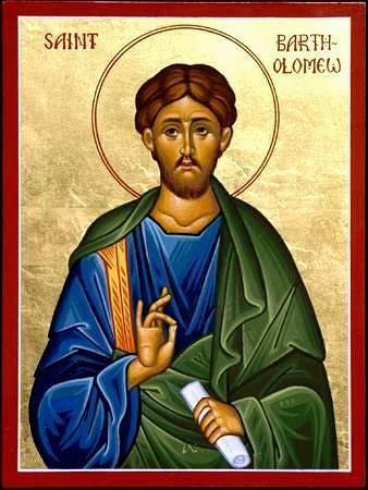 Bartholomew the Apostle THE TWELVE APOSTLESBARTHOLOMEW Bartholomew means son of