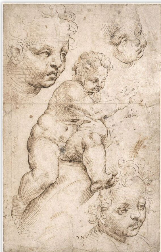 Bartolomeo Passarotti Bartolomeo Passarotti The Christ Child and Three further