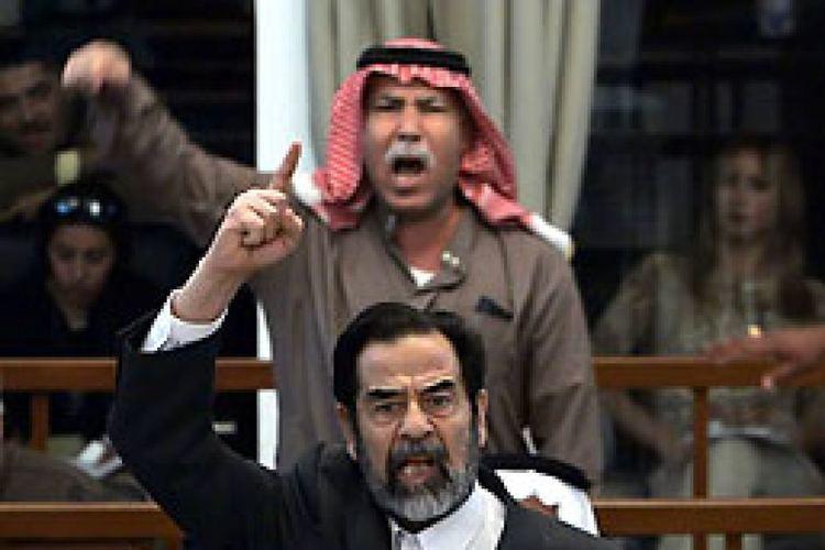 Barzan Ibrahim al-Tikriti Former Iraqi president Saddam Hussein and his halfbrother