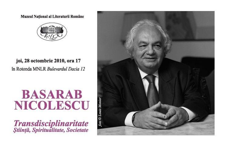 Basarab Nicolescu Academicianul Basarab Nicolescu invitat la MNLR Un blog de