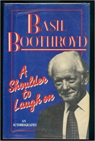 Basil Boothroyd A Shoulder to Laugh on Amazoncouk Basil Boothroyd 9780860513933