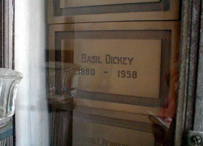 Basil Dickey Basil Dickey 1880 1958 Find A Grave Memorial