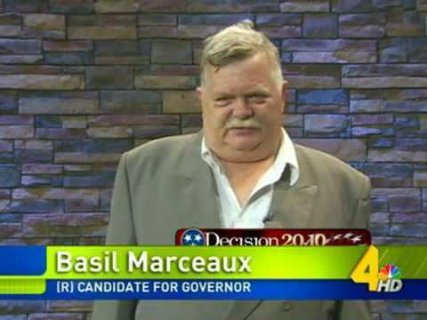 Basil Marceaux Basil Marceaux The Next Governor of Tennessee YouTube