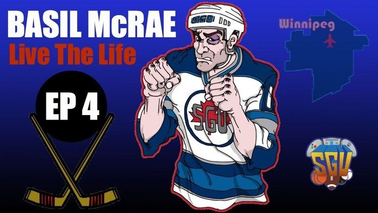 Basil McRae NHL 14 Basil McRae Live The Life Enforcer EP4 NHL Debut YouTube
