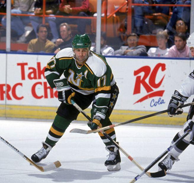 Basil McRae Basil McRae Minnesota North Stars 199091 Stanley Cup