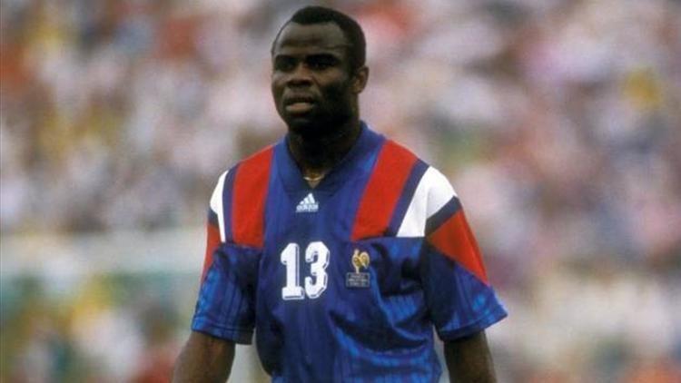Basile Boli Basile Boli dfenseur Equipe France Foot et Olympique de