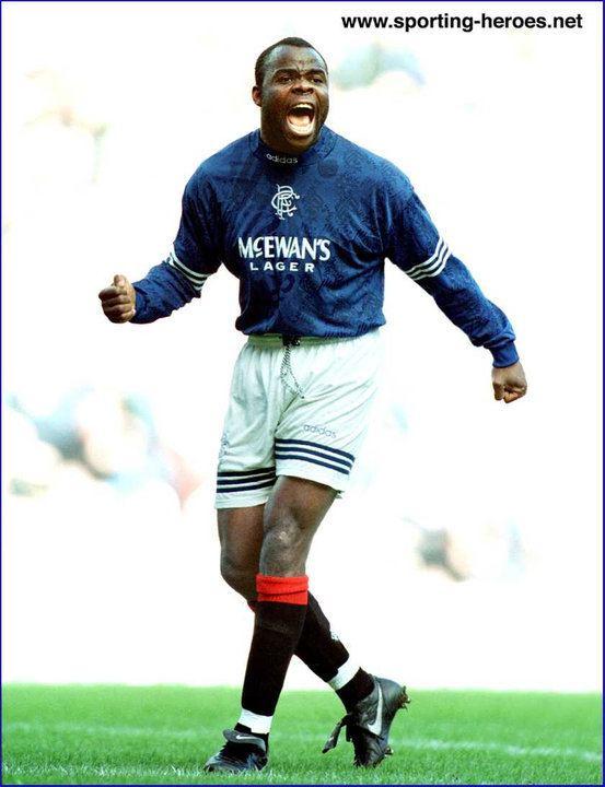 Basile Boli Basile Boli 199495 Rangers FC