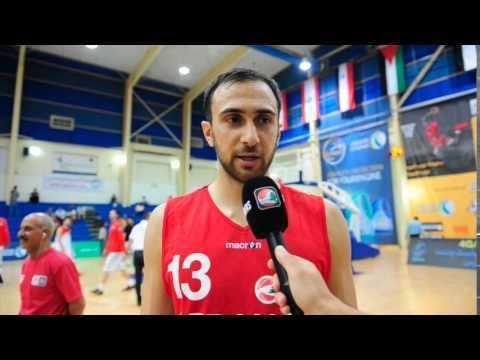 Bassel Bawji Bassel Bawji Post Game Interview Lebanon vs Palestine YouTube