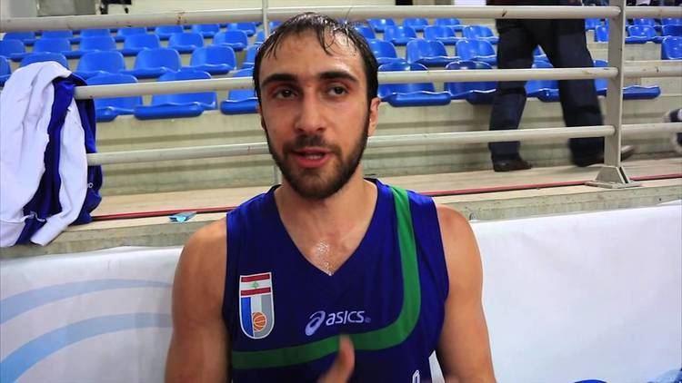Bassel Bawji Bassel Bawji post game interview Amchit vs Moutahed 2332014 YouTube