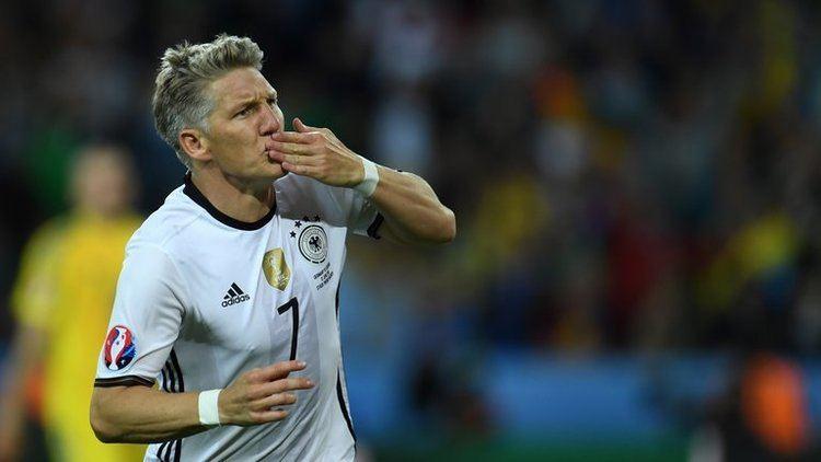 Bastian Schweinsteiger Germany captain Bastian Schweinsteiger praised after making scoring