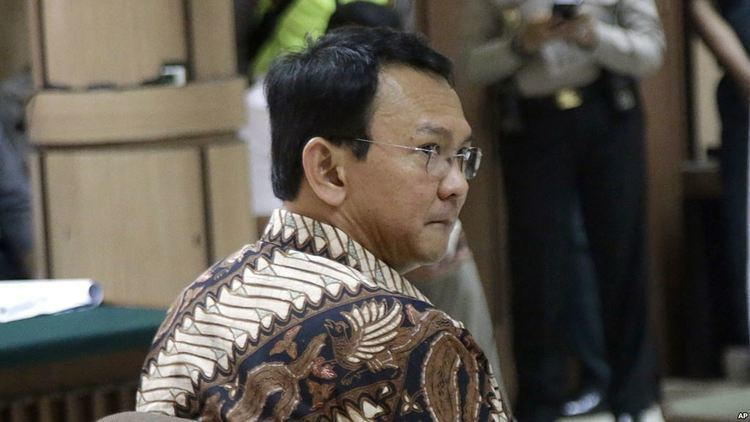 Basuki Tjahaja Purnama Indonesian Court to Proceed With Blasphemy Trial Against Jakarta