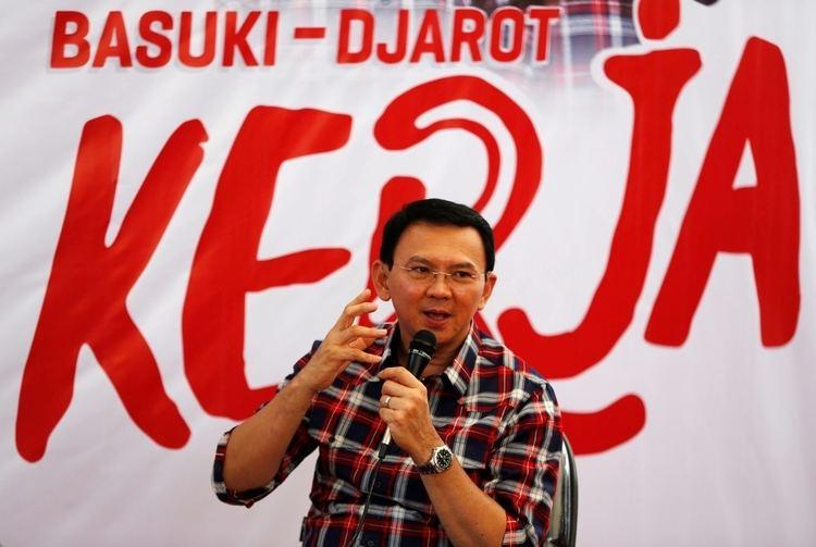 Basuki Tjahaja Purnama Indonesia Jakarta governor Basuki Tjahaja Purnama accused of