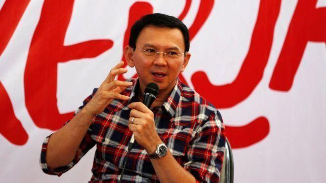 Basuki Tjahaja Purnama Ahok Police name Jakarta governor as blasphemy suspect BBC News