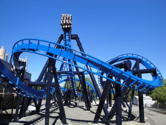 Batman: The Ride Batman the Ride Six Flags Magic Mountain Review Incrediblecoasters