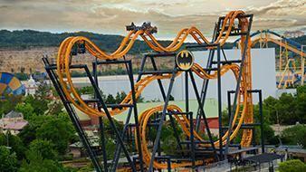 Batman: The Ride BATMAN The Ride Six Flags Fiesta Texas