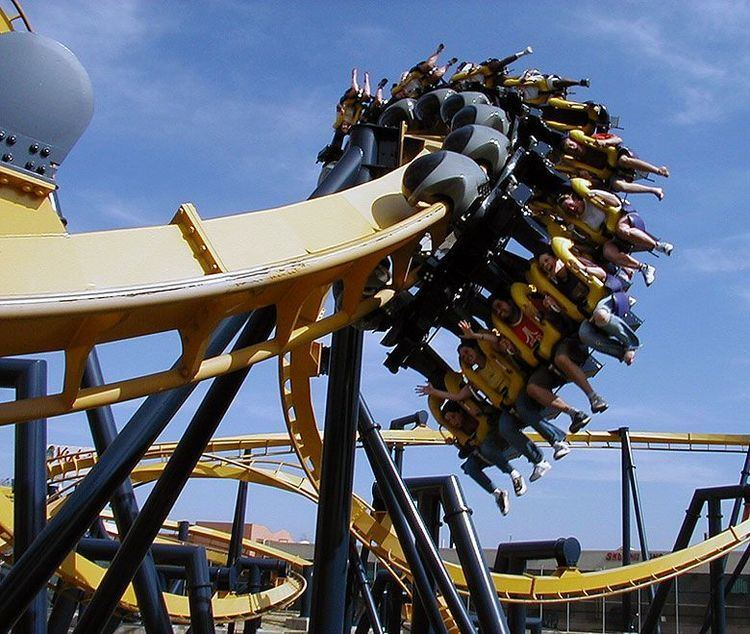 Batman: The Ride The first ever Batman The Ride roller coaster to open in 2015