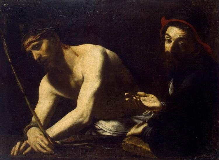 Battistello Caracciolo FileBattistello Caracciolo Christ and Caiaphas