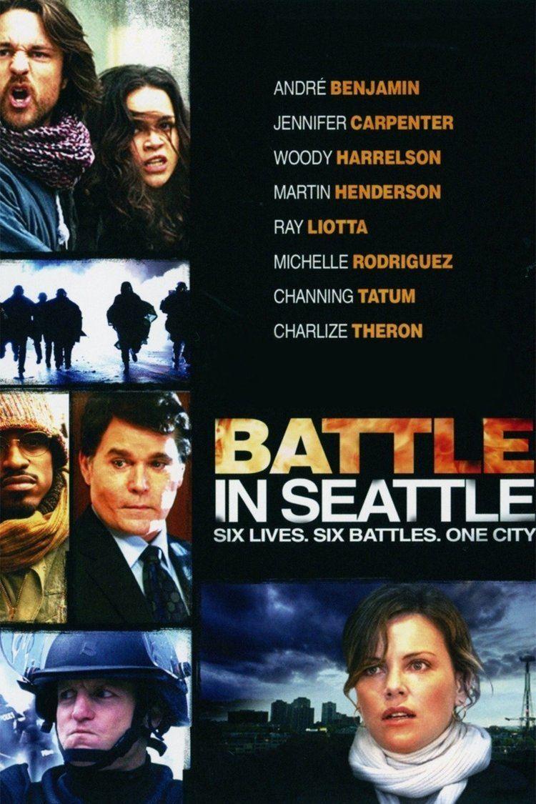 Battle in Seattle wwwgstaticcomtvthumbmovieposters174635p1746
