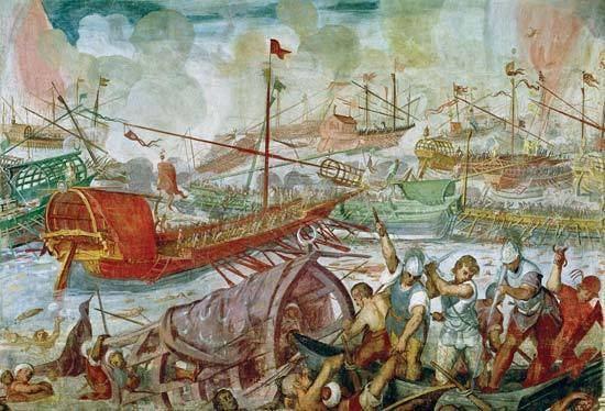 Battle of Actium Battle of Actium Britannicacom