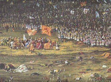 Battle of Bannockburn Bannockburn Battle Sequence of Events