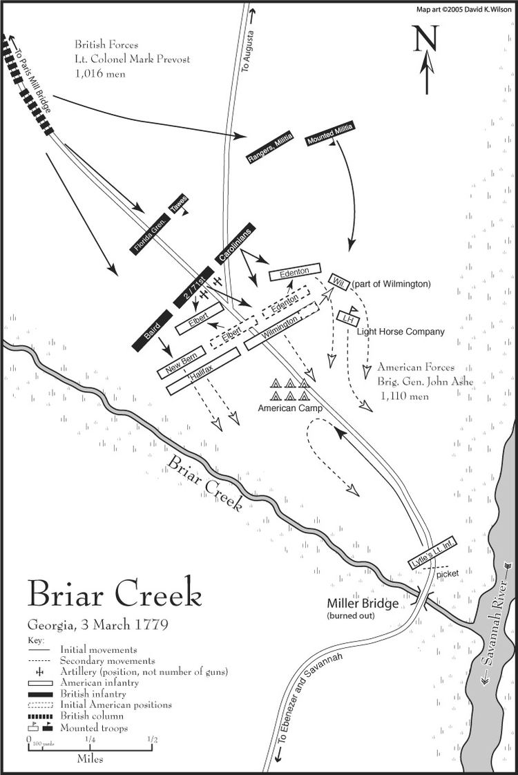 Battle of Brier Creek wwwsoutherncampaignorgwordpresswpcontentuplo
