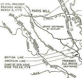 Battle of Brier Creek Battle of Brier Creek