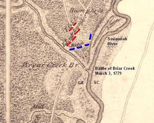 Battle of Brier Creek EUREKA The Battle of Brier Creek Found