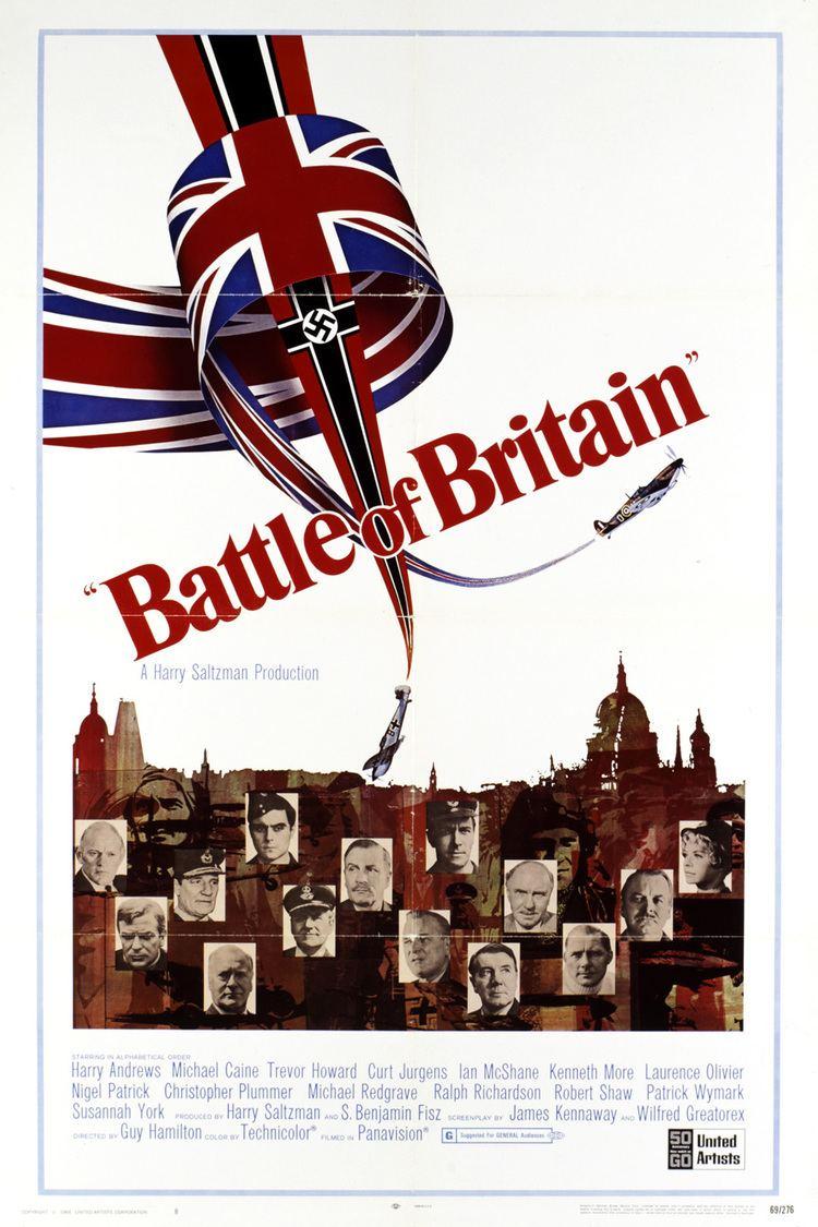 Battle of Britain (film) wwwgstaticcomtvthumbmovieposters3349p3349p