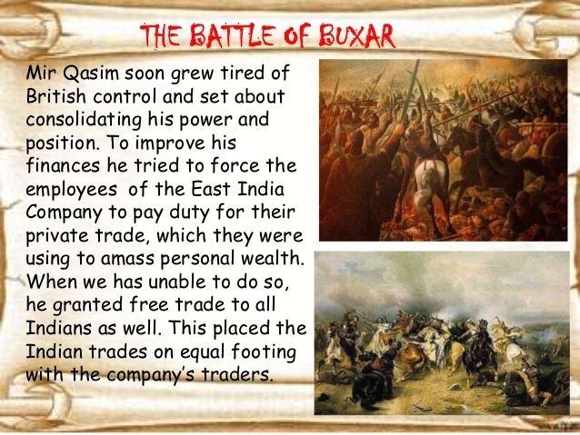 Battle of Buxar Histry 8
