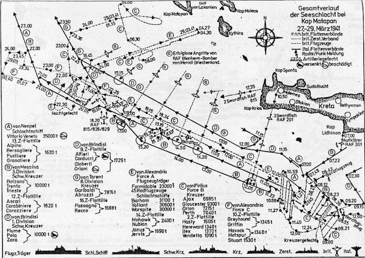 Battle of Cape Matapan Battle of Cape Matapan Operation Mercury