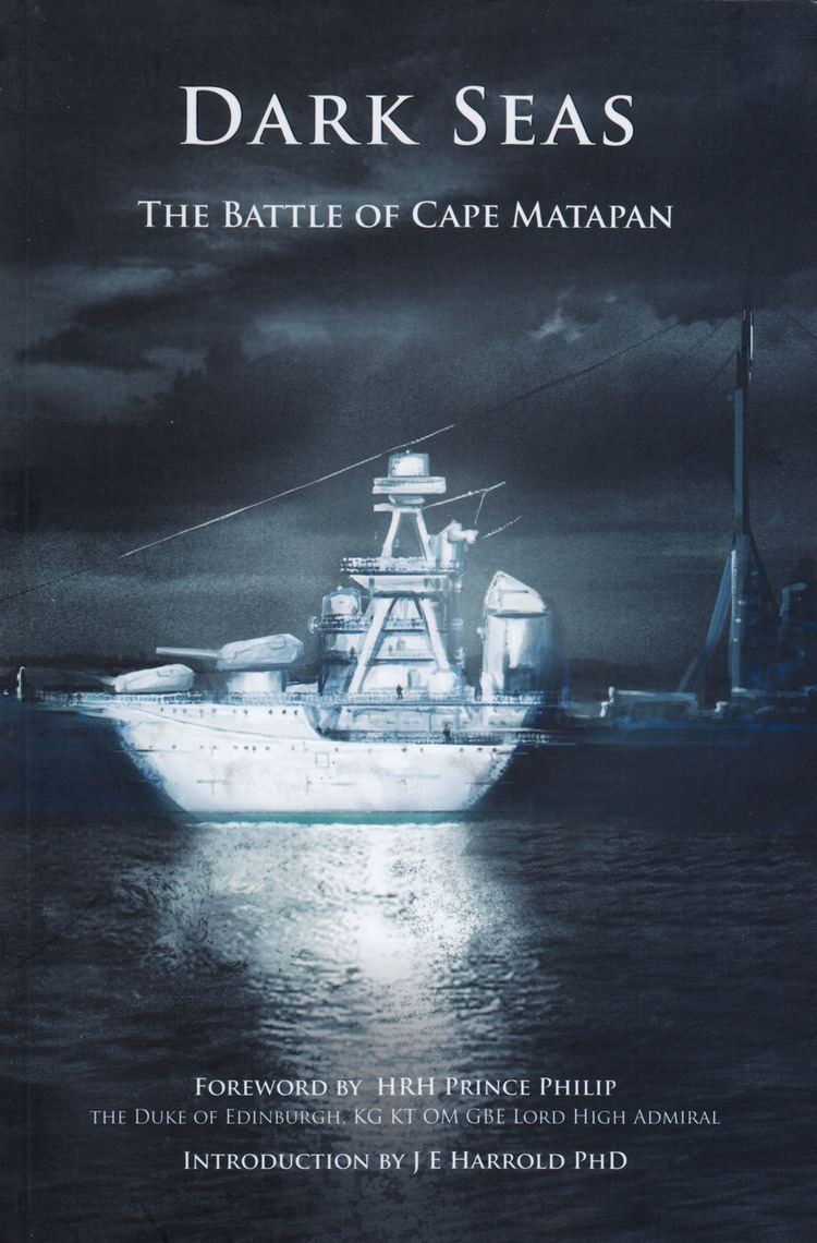 Battle of Cape Matapan BOOK REVIEW Dark Seas The Battle of Cape Matapan Naval