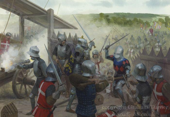 Battle of Castillon Studio 88 Limited The Battle of Castillon 1453