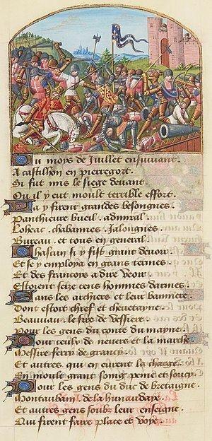 Battle of Castillon Battle of Castillon Wikipedia
