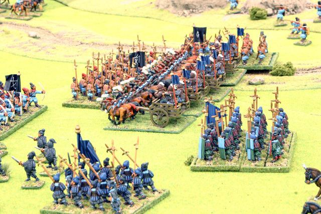 Battle of Changping Curteys Miniatures The battle of Changping a Warring States demo game
