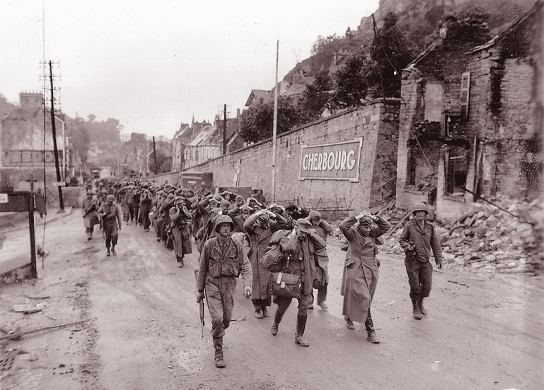 Battle of Cherbourg BATTLE OF CHERBOURG 1944LIBERATION OF CHERBOURG 1944BATTLE OF