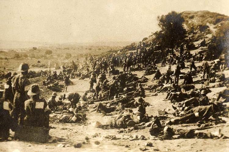 Battle of Chunuk Bair Remembering Chunuk Bair 100 years on Massey University