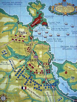 Battle of Corunna httpsuploadwikimediaorgwikipediacommonsthu