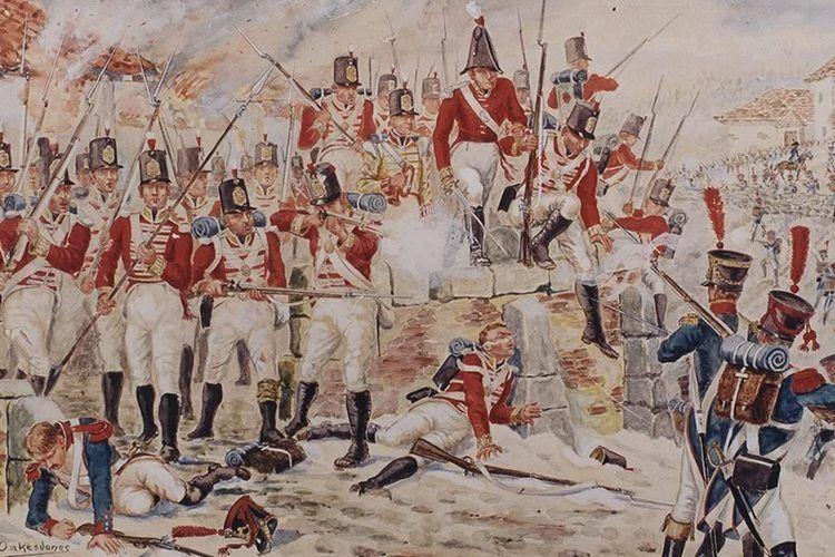 Battle of Corunna Corunna Cameronians The Scottish Rifles