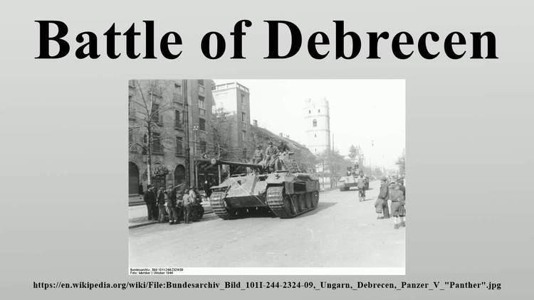 Battle of Debrecen Battle of Debrecen YouTube
