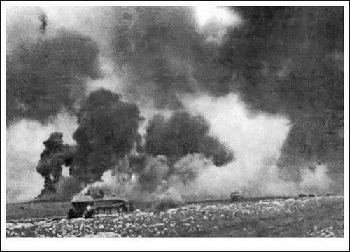 Battle of Debrecen Hungarian Forces Tank Battle on the Hungarian Puszta 1944