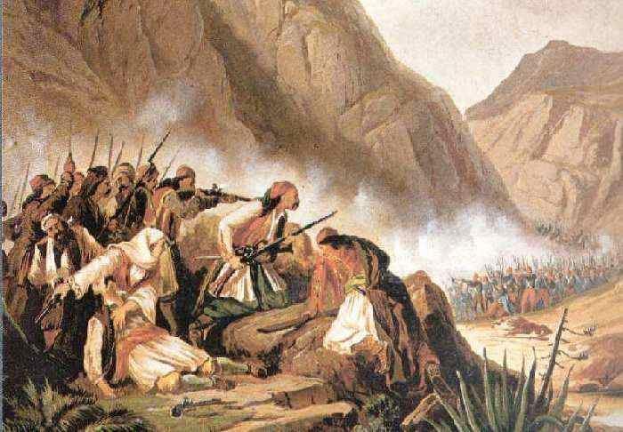 Battle of Dervenakia - Alchetr...