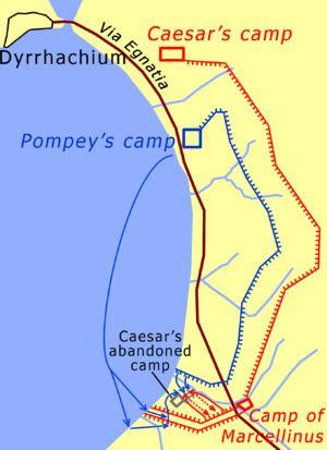 Battle of Dyrrhachium (48 BC) httpsuploadwikimediaorgwikipediacommonsthu