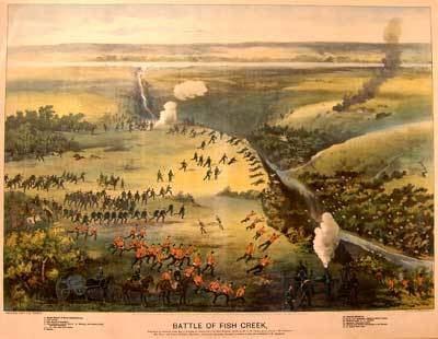 Battle of Fish Creek The Riel Rebellion The Battle of Fish Creek