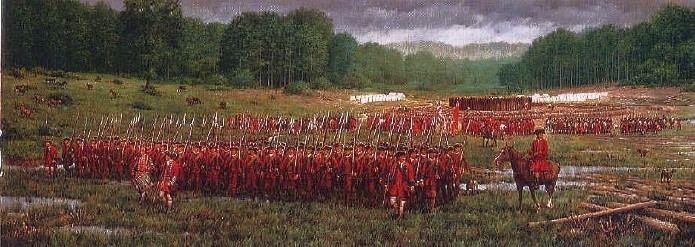 Battle of Fort Necessity Fort Necessity George Washington39s Hopeless Battle