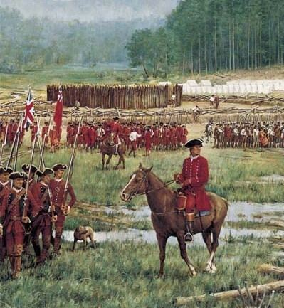 Battle of Fort Necessity Once Upon a Timequot The Battle of Fort Necessity