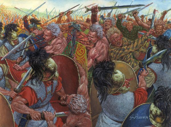 Battle of Gergovia Battle of Gergovia Weapons and Warfare